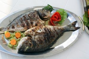 fish, grill, grilling