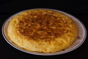 food, dish, tortilla